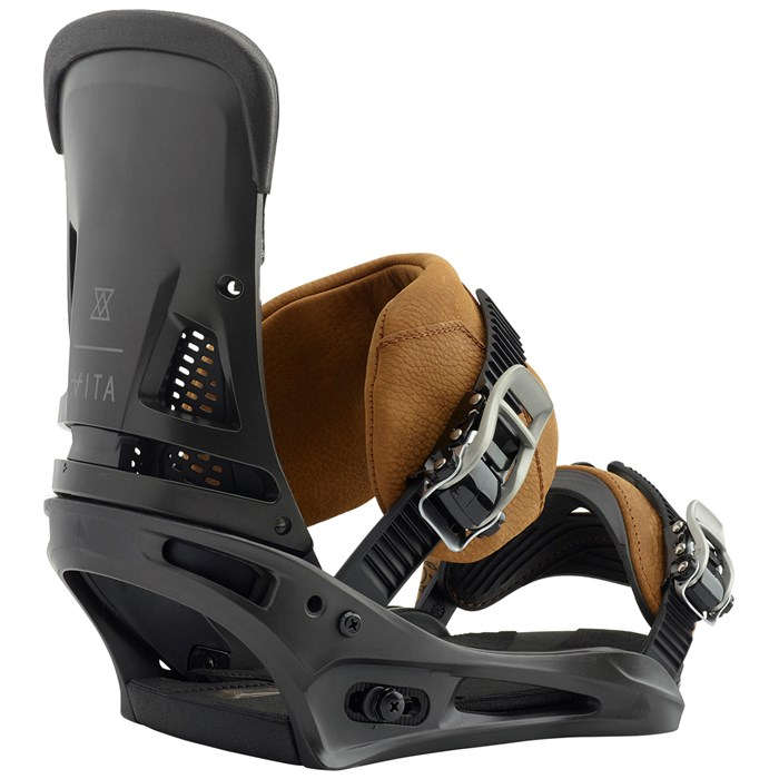 Burton - Malavita Leather Snowboard Bindings 2019