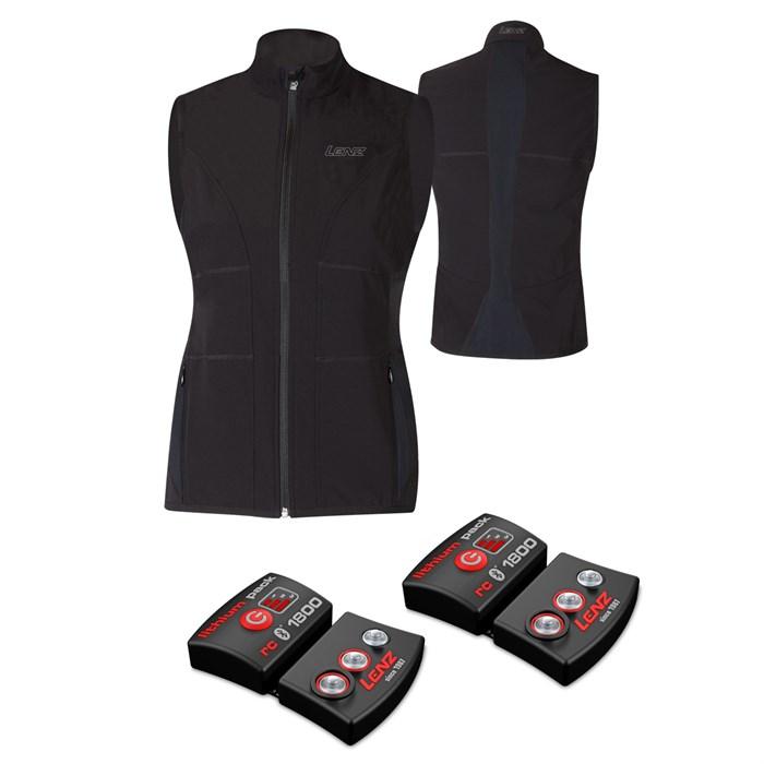 Lenz - Heat Vest + Set of rcB 1800 Lithium Battery Packs - Women's