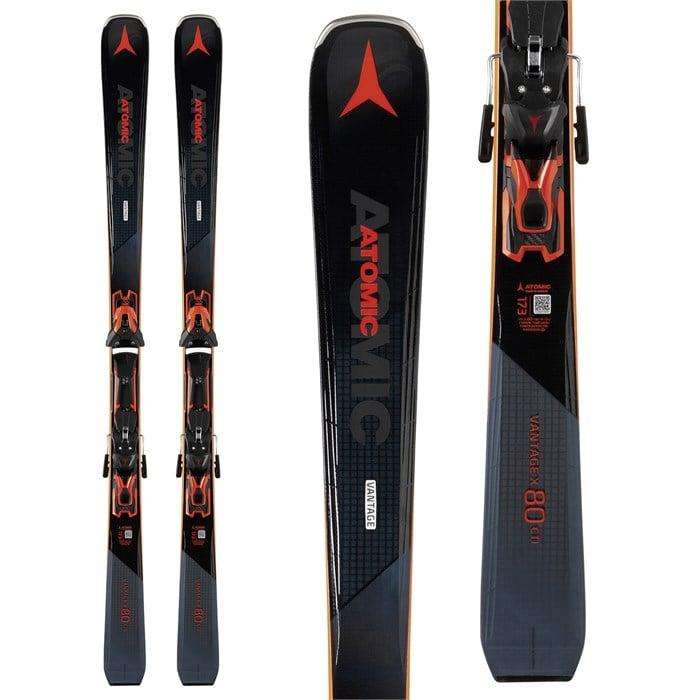 Atomic Vantage X 80 CTI Skis + FT 12 GW Bindings 2019