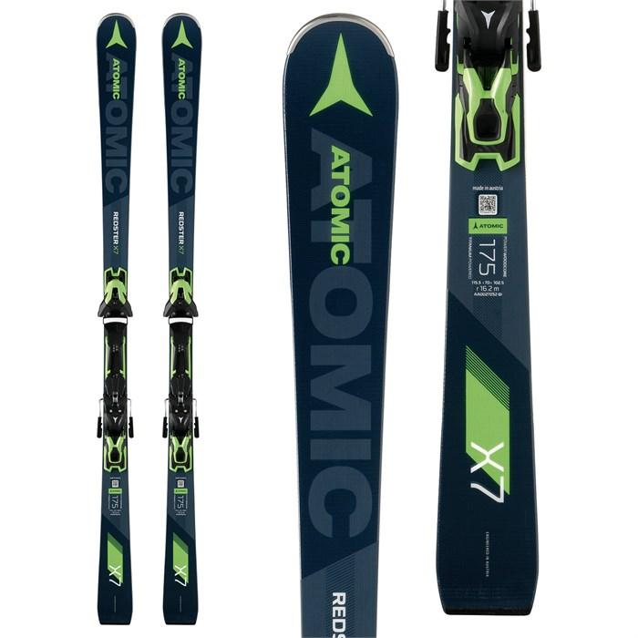 Atomic Redster X7 Skis + FT 12 GW Bindings 2019