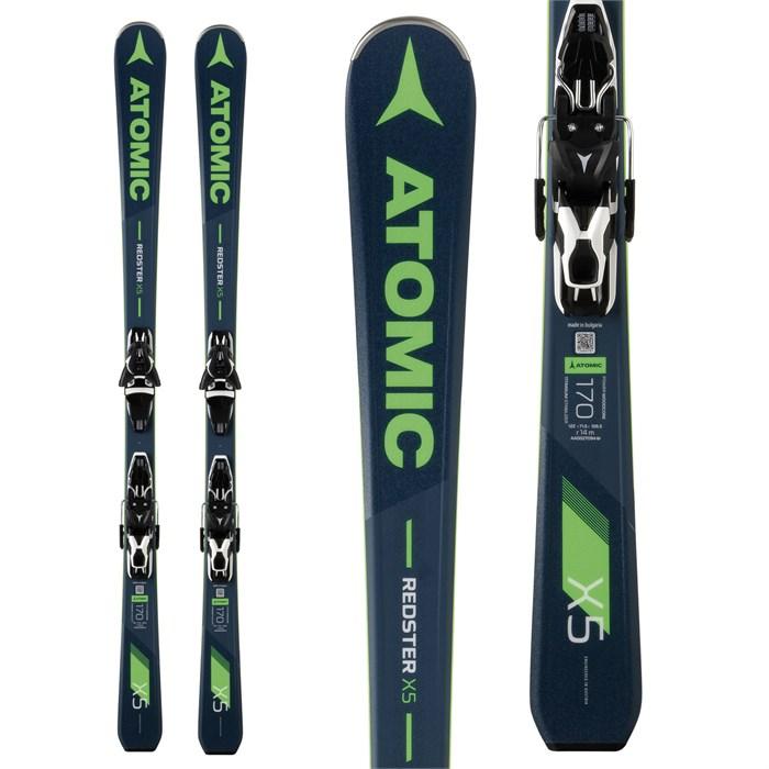 Atomic - Redster X5 Skis + FT 11 GW Bindings 2019