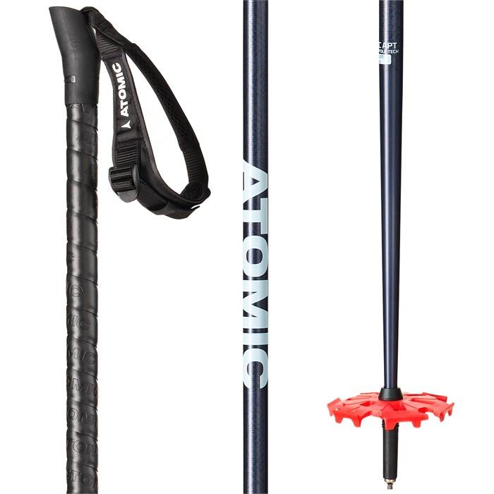 2019 Atomic BCT Freeride SQS Red Ski Poles-125