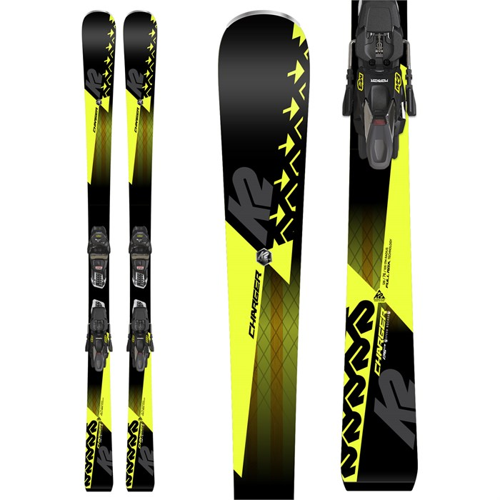 K2 Charger Skis + M3 11 TCx Light Bindings 2019