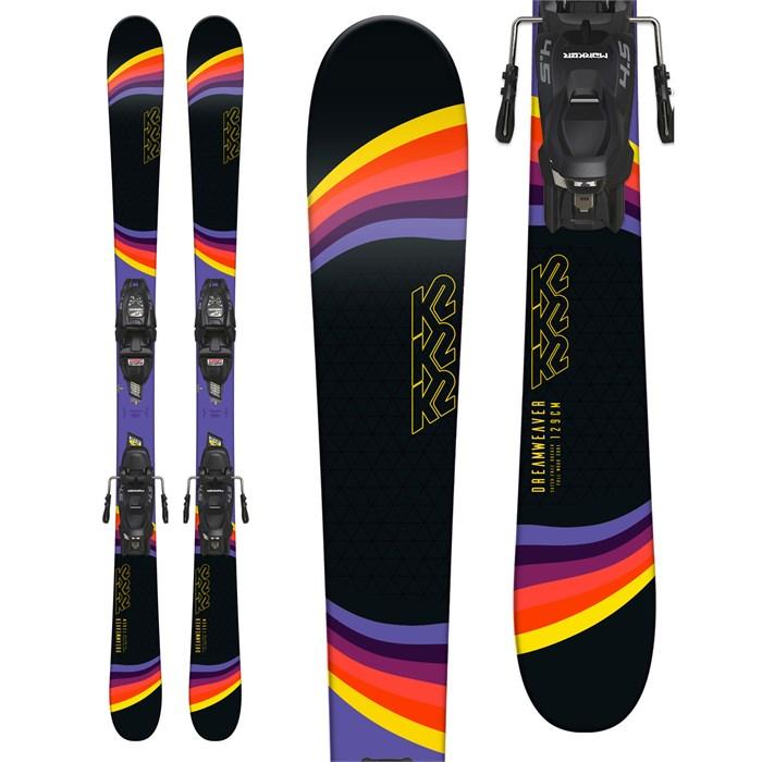 K2 - Dreamweaver Skis + Marker FDT 7.0 Bindings - Girls' 2019 - Used