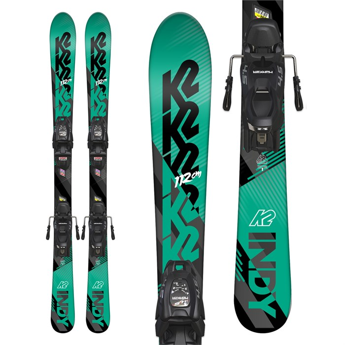 K2 - Indy Skis + Marker FDT 7.0 Bindings - Boys' 2019