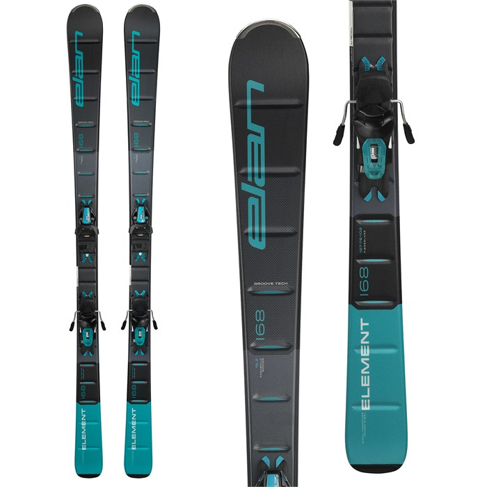 Elan - Element Skis + ELW 9.0 Bindings - Women's 2019