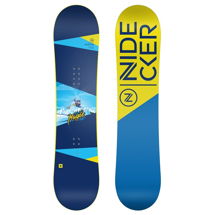 Nidecker Micron Magic Snowboard - Little Kids' 2019