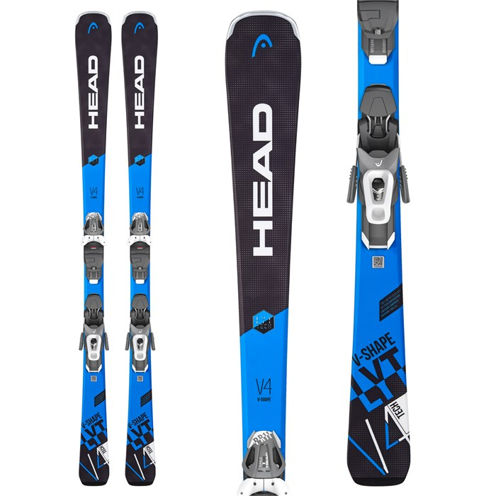 Head - V-Shape V4 Skis + LYT PR 10 GW Ski Bindings 2019