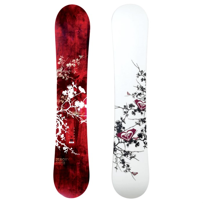 Roxy Silhouette (Red/Gold) Snowboard - Women's 2008 | evo