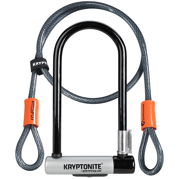 Kryptonite - KryptoLok STD U-Lock with 4' Flex Cable