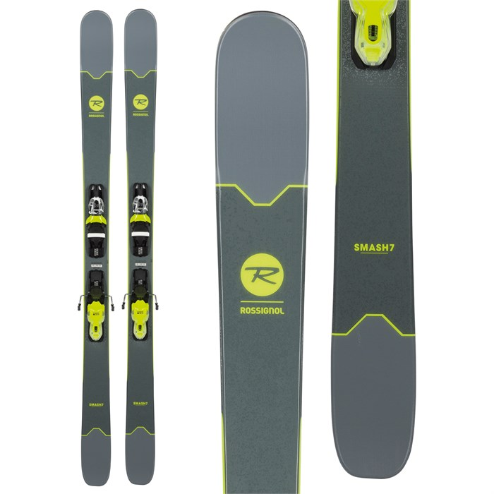 CLEARANCE Rossignol Smash 7 snow skis 170cm with bindings New 2019