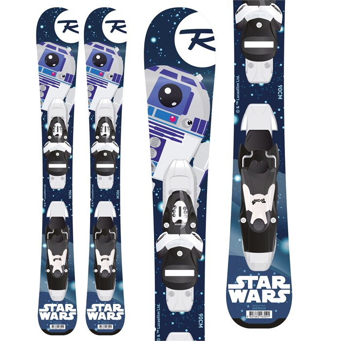 Rossignol - Star Wars Baby Skis + Kid-X 4 Bindings - Little Kids' 2019