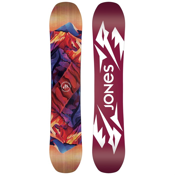 Jones Twin Sister Snowboard - Women s 2019   evo 8f749feeb6e