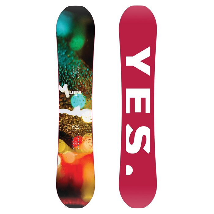 Yes. - Libre Snowboard 2019