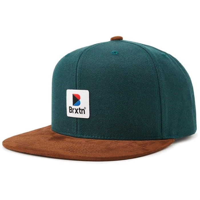 Brixton - Stowell MP Snapback Hat e89e31c0a40b