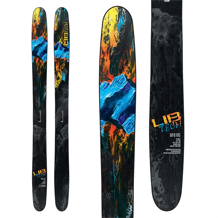 Lib Tech - UFO 115 Skis 2019