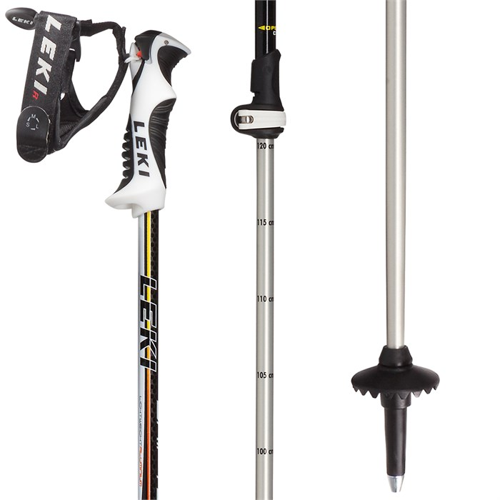 Leki - Drifter Vario S Adjustable Ski Poles - Kids' 2019