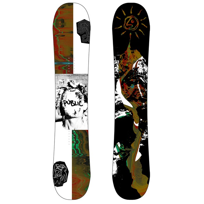 Public Snowboards - Public Opinion Bradshaw Snowboard 2019