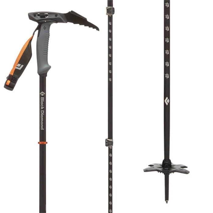 Black Diamond Whippet Adjustable Ski Pole 2019   evo