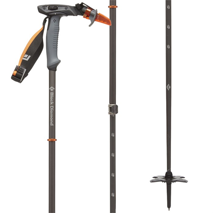 5ef35e46e435 Black Diamond - Carbon Whippet Adjustable Ski Pole 2019 ...
