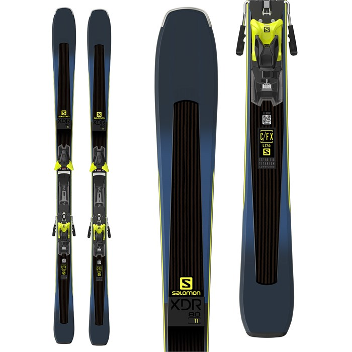 Salomon - XDR 80 Ti Skis + Z12 Walk Bindings 2019