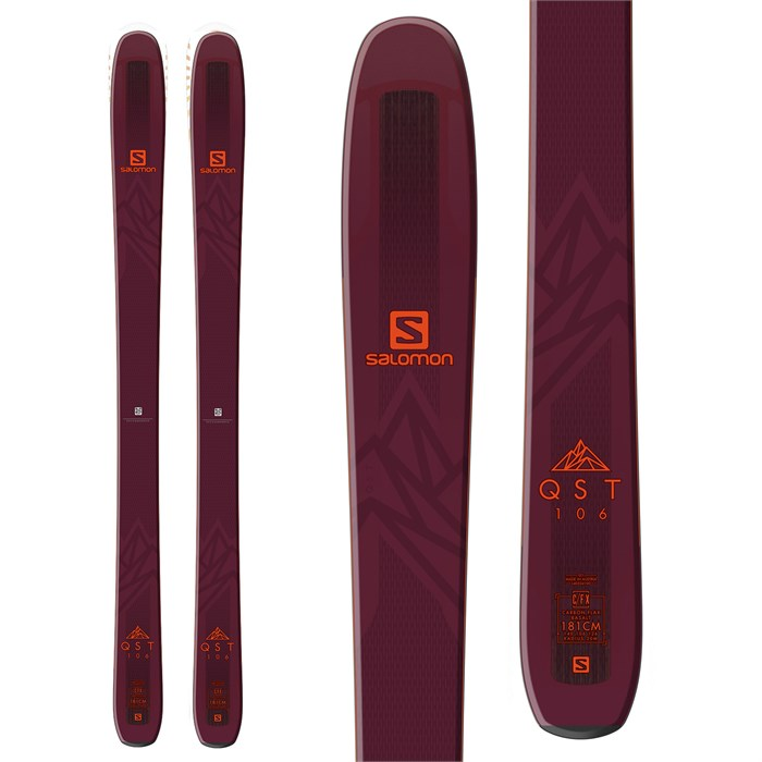 Salomon - QST 106 Skis 2019