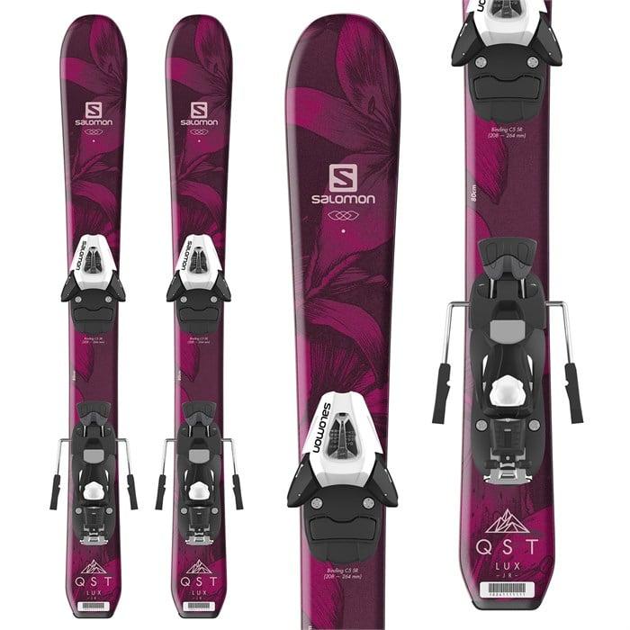 Salomon - QST Lux Jr Skis XS + C5 SR Bindings - Little Girls' 2019