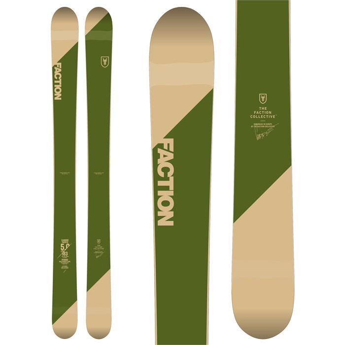 Faction - Candide 5.0 Skis 2019