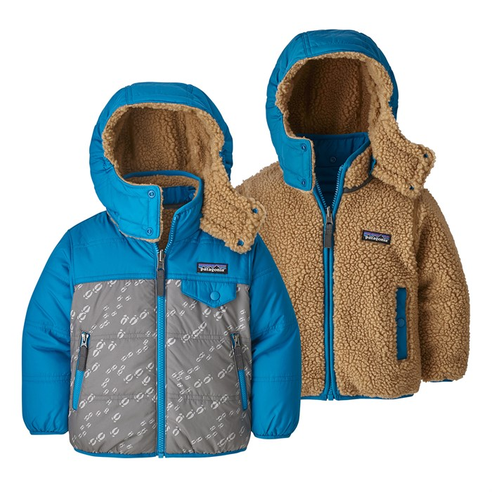 Patagonia - Reversible Tribbles Hoodie - Toddler Girls'