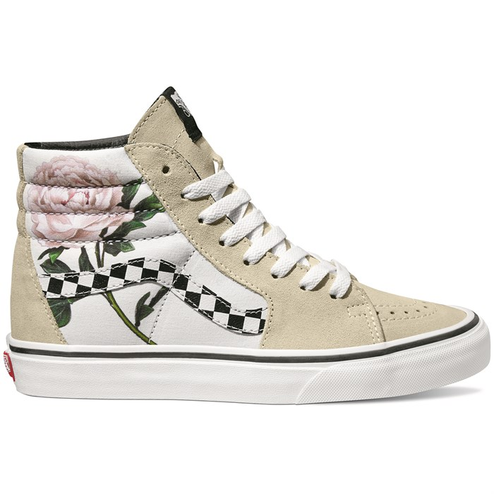 660f8c6ce0 Vans Checker Floral Sk8-Hi Shoes - Women s