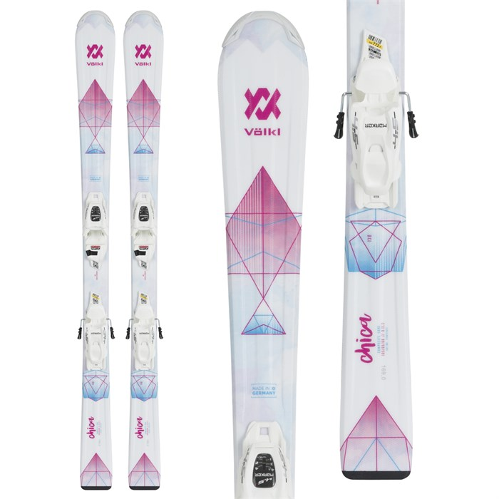 Volkl - Chica Skis + 7.0 vMotion Jr Bindings - Girls' 2019