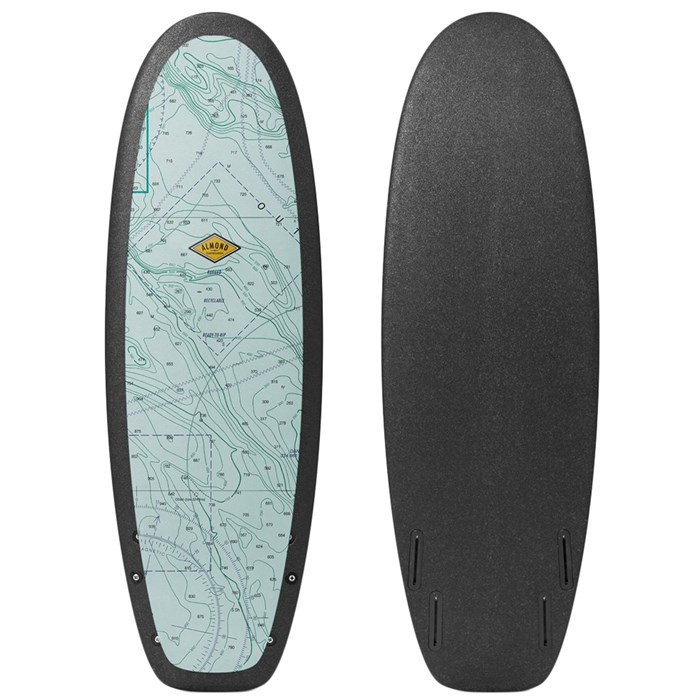 "Almond Surfboards - R-Series 5'4"" Secret Menu Surfboard"