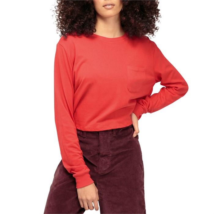 Richer Poorer - Cropped Long-Sleeve T-Shirt - Women's