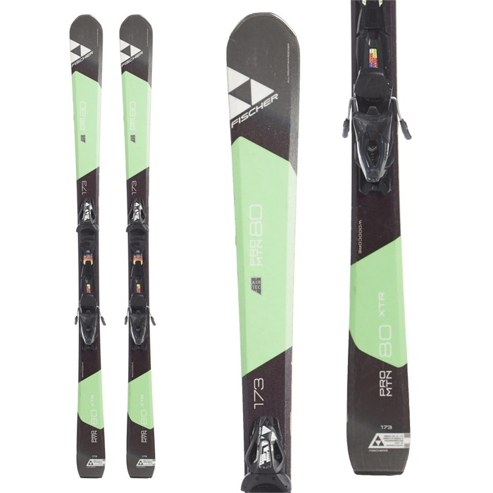 Fischer - Pro MTN 80 Skis + RS 10 Bindings 2017 - Used