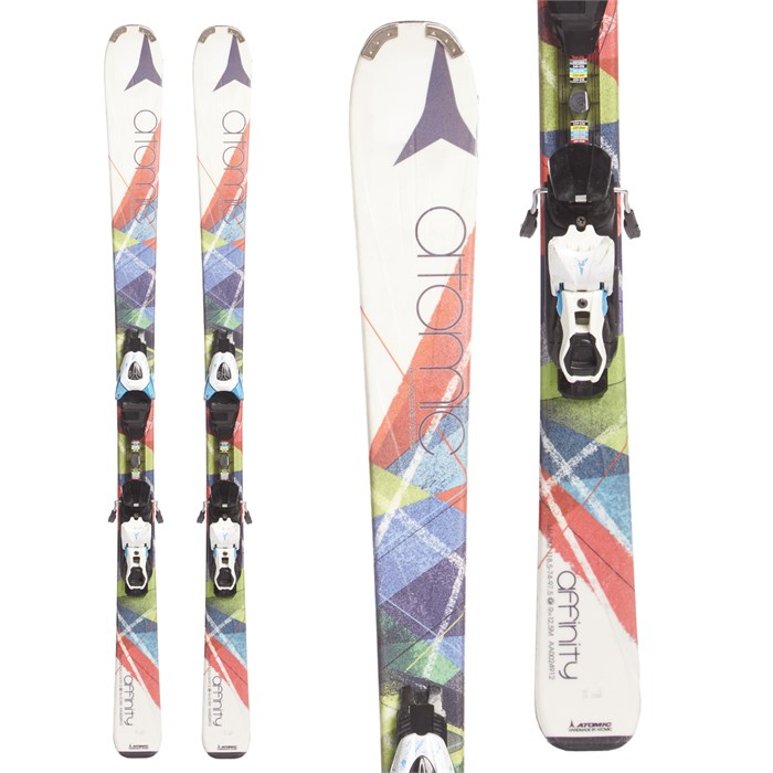 Atomic Affinity Pure Skis + EZY 10 Demo Bindings