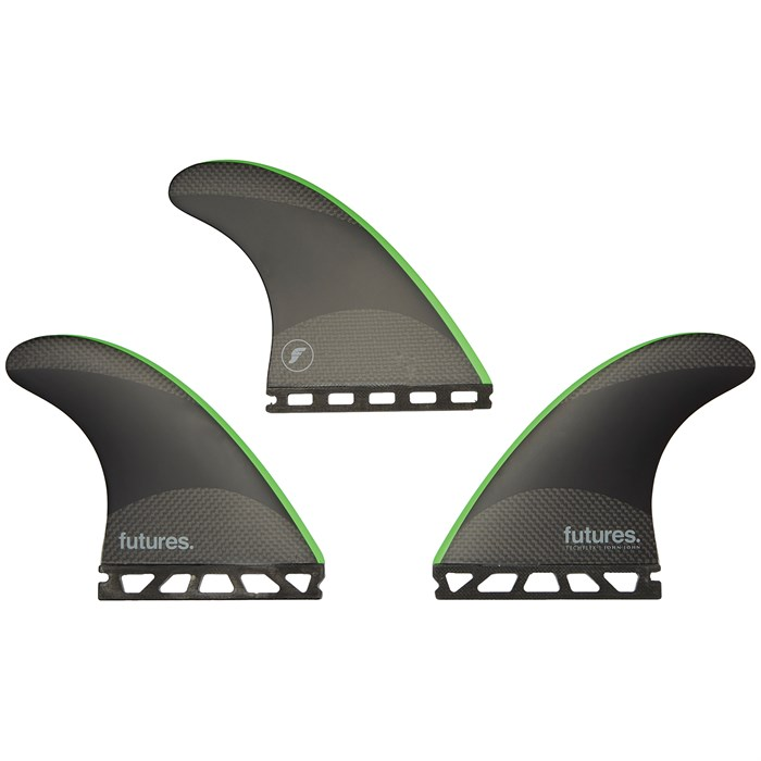 Futures - JJF-2 Medium Techflex Tri Fin Set
