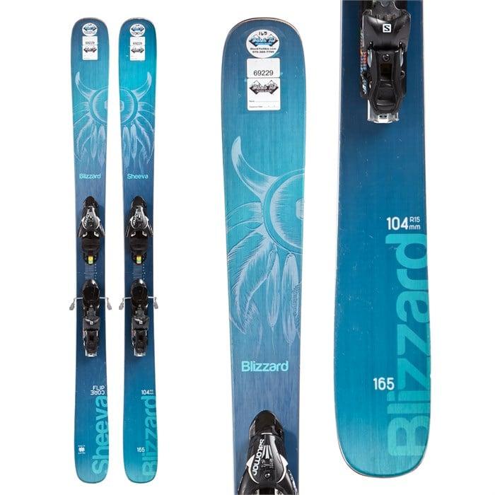 Blizzard Sheeva Skis + Atomic Lithium 10 Demo Bindings
