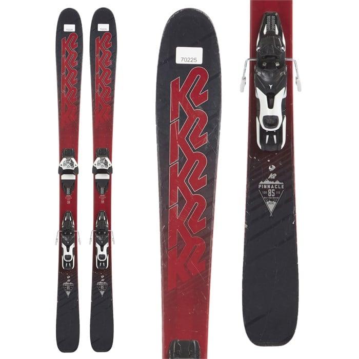 K2 - Pinnacle 85 Skis + Atomic Warden 11 Demo Bindings 2018 - Used