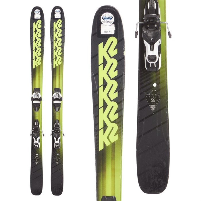 K2 - Pinnacle 95 Skis + Atomic Warden 11 Demo Bindings 2018 - Used
