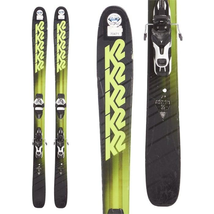 K2 - Pinnacle 95 Skis + Atomic Warden 11 Demo Bindings 2018 - Used