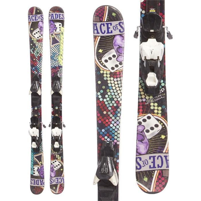 Nordica Ace Of Spades Skis + Atomic L7 Demo Bindings