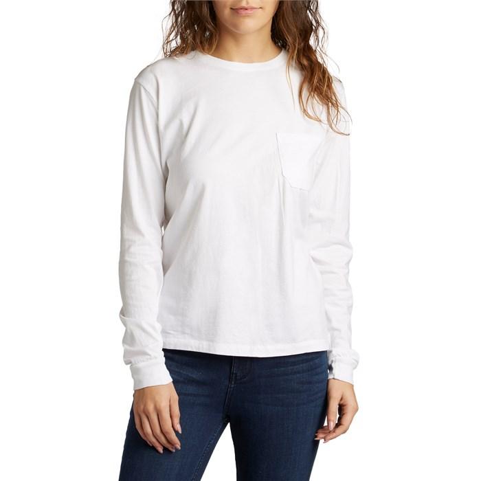 Richer Poorer - Long-Sleeve Crew Pocket T-Shirt - Women's