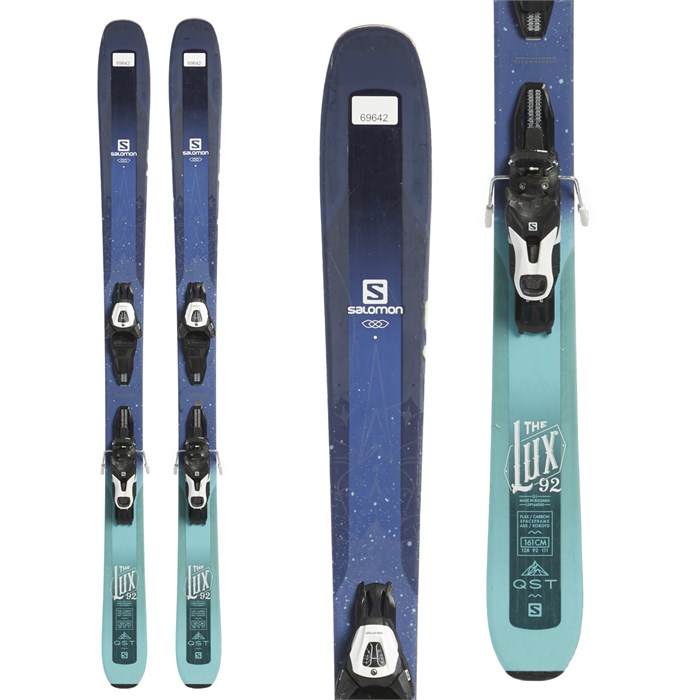 Salomon Lux 92 Skis + Lithium 10 Demo Bindings
