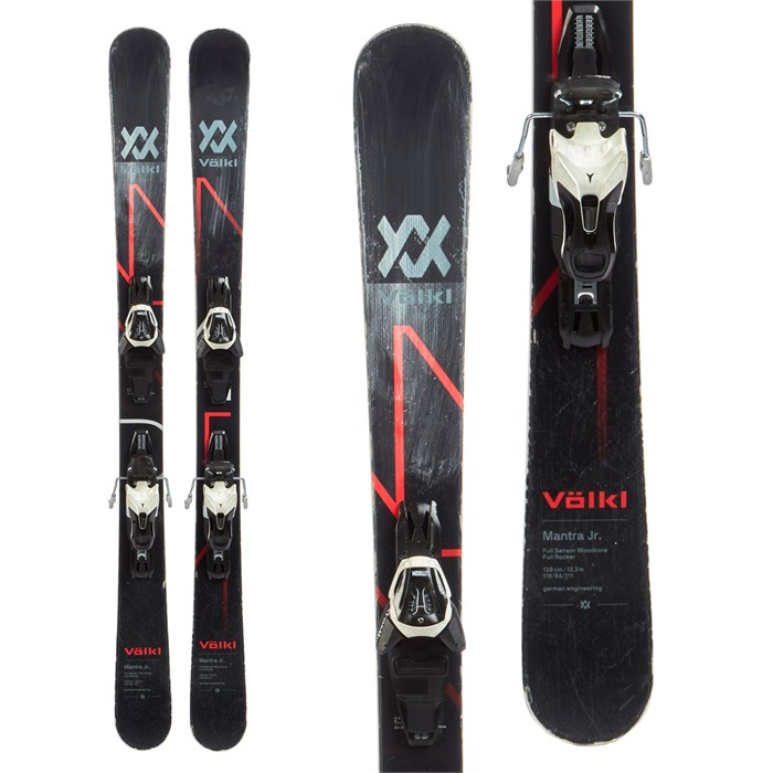 Volkl Mantra Jr Skis + Atomic Lithium 10 Demo Bindings