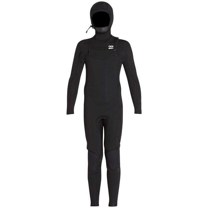 Billabong - 5/4 Furnace Absolute Hooded Chest Zip Wetsuit - Boys'