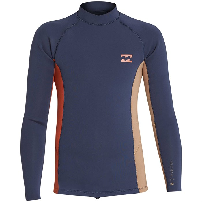 Billabong - 2mm Revolution Interchange Long Sleeve Wetsuit Jacket - Boys'