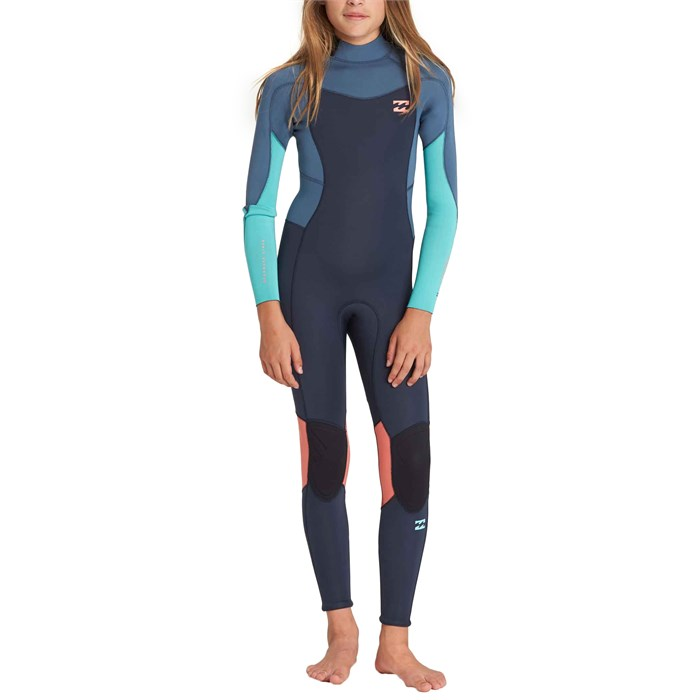 Billabong - 3/2 Furnace Synergy Back Zip Wetsuit - Girls'