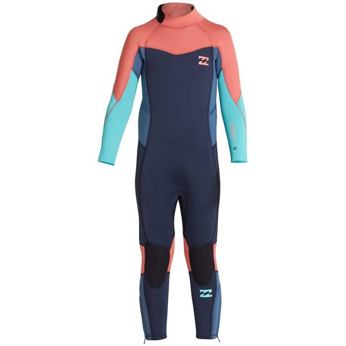 f722f1890f Billabong - 3 2 Furnace Synergy Back Zip Wetsuit - Little Girls  ...