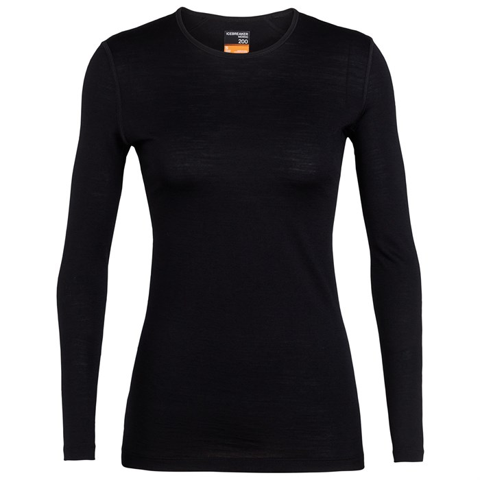 Icebreaker - 200 Oasis Baselayer Crew Top - Women's