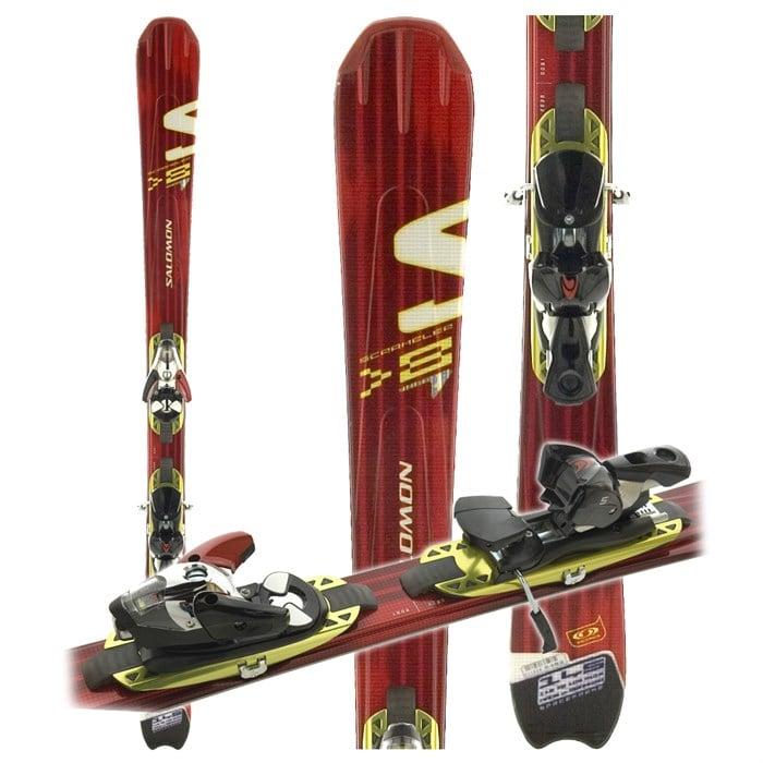 Salomon Scrambler 8 Skis + Bindings - Used 2006